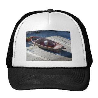 Old italian abandoned boat trucker hat