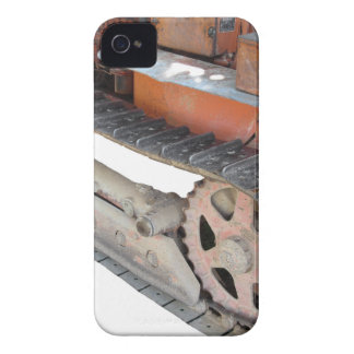 Old italian crawler tractor iPhone 4 cover