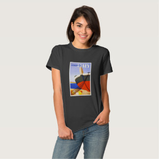 Old  Italian tour poster T-Shirt