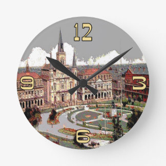 Old Jackson Square Time Round Clock