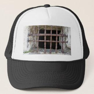 old jailhouse window trucker hat