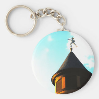 Old Jake Weather Vane Keychain