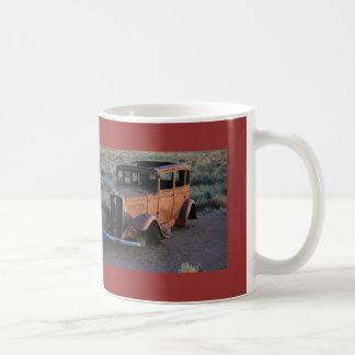 Old Jalopy in Arizona on Route 66 Mug