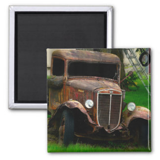 Old Jalopy in the Country Magnet