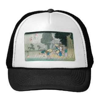 Old Japan in the Rain, circa 1834-42 Trucker Hat