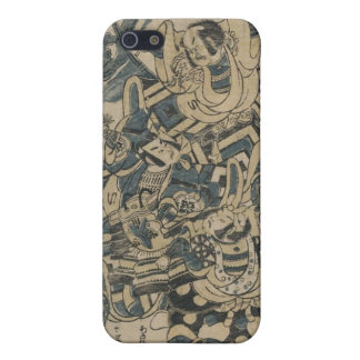 Old Japan Samurai Painting circa 1700s Cover For iPhone SE/5/5s