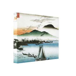 Old Japanese Boats Print