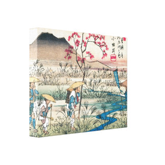 Old Japanese Hikers Print