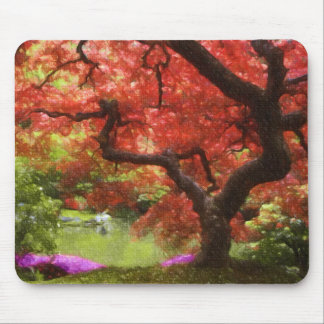 Old Japanese Maple Mouse Mats