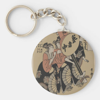 Old Japanese Picture Keychain