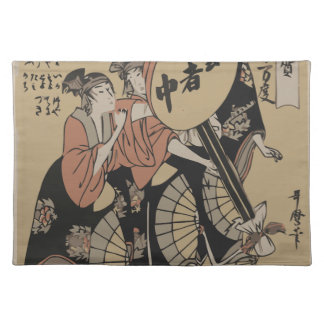 Old Japanese Picture Placemat