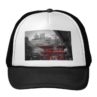Old Japanese Temple Mesh Hats