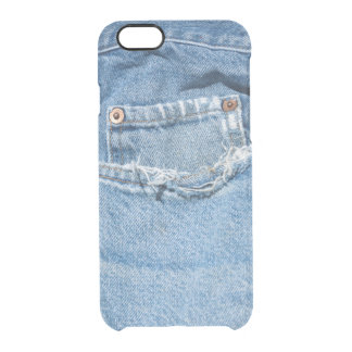 Old Jeans Custom iPhone 6 Clearly™ Deflector Case