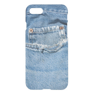 Old Jeans Custom iPhone 7 Clearly™ Deflector Case