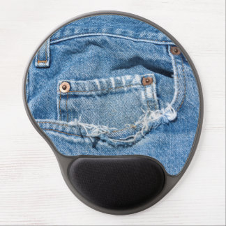 Old Jeans Gel Mouse Pad