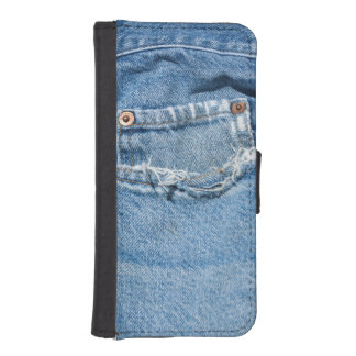 Old Jeans iPhone 5/5s Wallet Case