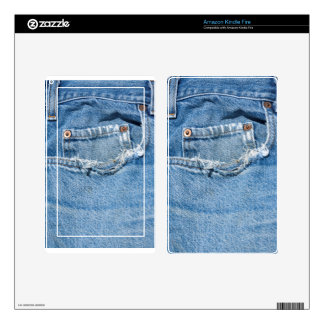 Old Jeans Kindle Fire Decal For Kindle Fire