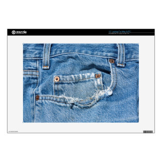 "Old Jeans  "" Laptop For Mac & PC Laptop Skin"
