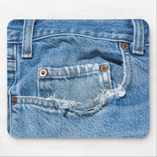 Old Jeans Mousepad