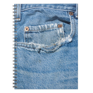 Old Jeans Notebook (80 Pages B&W)
