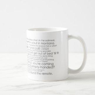 Old Jews Telling Jokes: The Joke Mug! Classic White Coffee Mug
