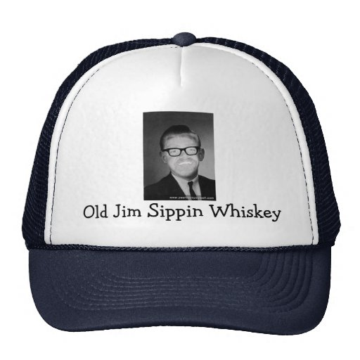 Old Jim Sippin Whiskey Trucker Hat