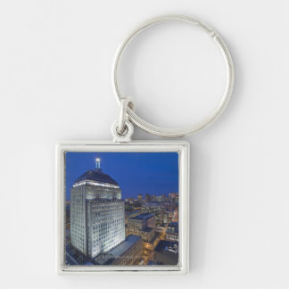 Old John Hancock Building with Boston in the Keychain