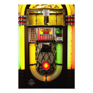 Old Jukebox Photograph