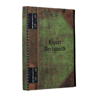 Old Keller Book style Customizable iPad Folio Case