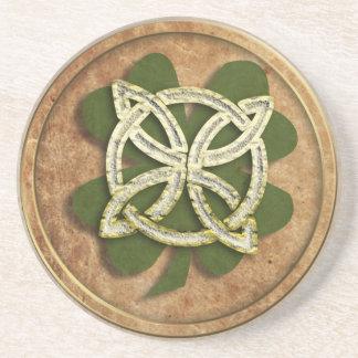 old kelt clover beverage coasters