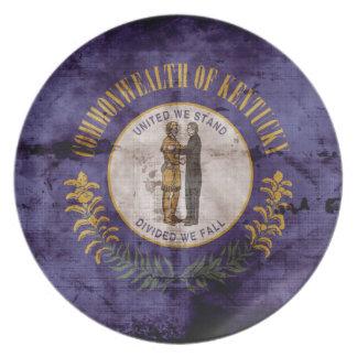 Old Kentuckian Flag; Plate