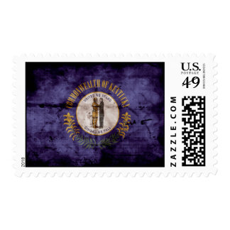 Old Kentuckian Flag; Stamp