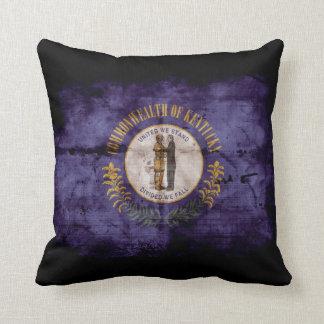 Old Kentucky Flag; Throw Pillows