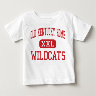 Old Kentucky Home - Wildcats - Middle - Bardstown Baby T-Shirt