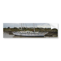 Old Ketch On The River Blythe Bumper Sticker