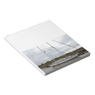 Old Ketch On The River Blythe Notepad