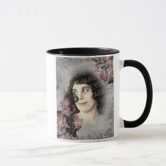 Old Key and Roses Custom Photo Mug