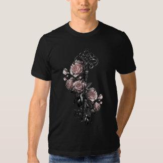 Old Key and Roses Tee Shirt