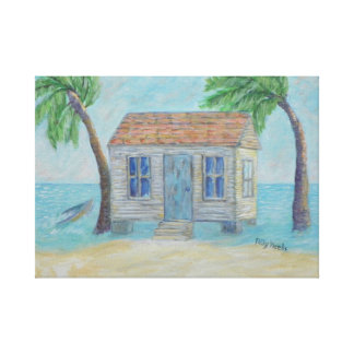 OLD KEY WEST CONCH HOUSE Canvas