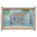 key, west, conch, house, serving, tray, ocean,