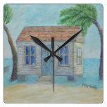 key west, island, florida, conch, house, clock,