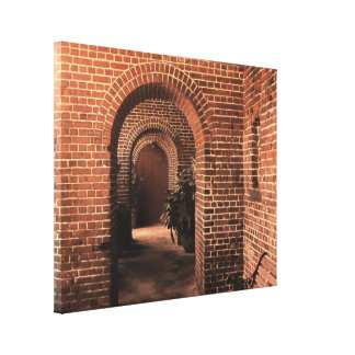 Old Key West Fort Hallway Stretched Canvas Print