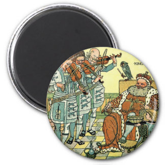 Old King Cole by Walter Crane 1845 ~ 1915 Magnet