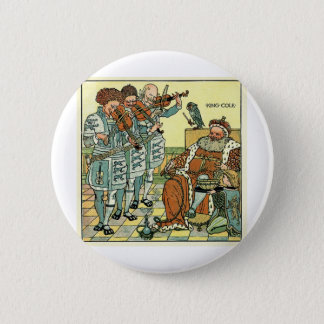 Old King Cole by Walter Crane 1845 ~ 1915 Pinback Button