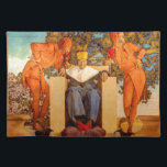"""Old King Cole Cloth Placemat<br><div class=""""desc"""">Old King Cole was a merry old soul.</div>"""
