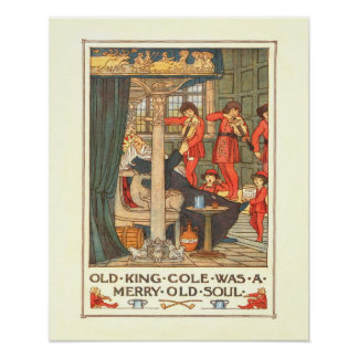 """Old King Cole"" Poster"