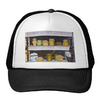 old kitchen shelf trucker hat