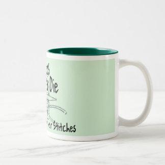 Old Knitters Coffee Mugs
