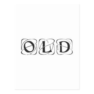old-kon-dark-gray png postal