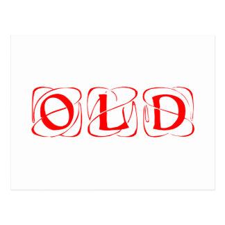 old-kon-red png tarjeta postal